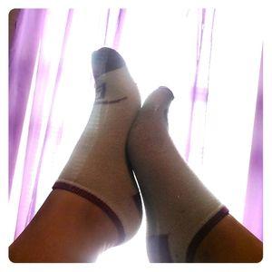 Well worn womens socks